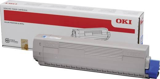 OKI Toner C831 C841 44844507 Original Cyan 10000 Seiten