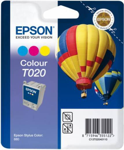 Original Epson Single Tintenpatrone Colour T020