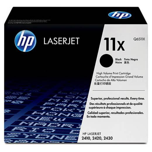 HP Toner 11X Q6511X Original Schwarz 12000 Seiten
