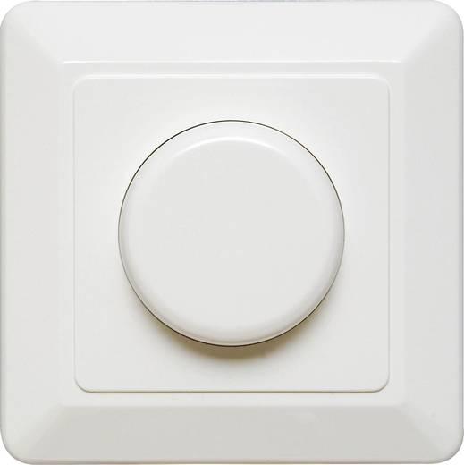 Unterputz Dimmer Geeignet für Leuchtmittel: Halogenlampe, Glühlampe Reinweiß Ehmann 4660c0026