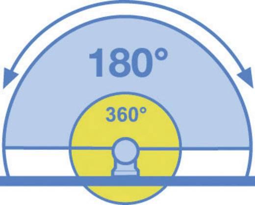 Aufputz PIR-Bewegungsmelder GEV 018402 180 ° Relais Schwarz IP44