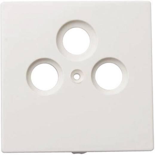 GAO Abdeckung SAT-Steckdose Starline Weiß 3508