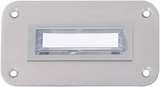 Heidemann 70065 Klingelplatte beleuchtet 1fach Edelstahl 8-12 V/1 A