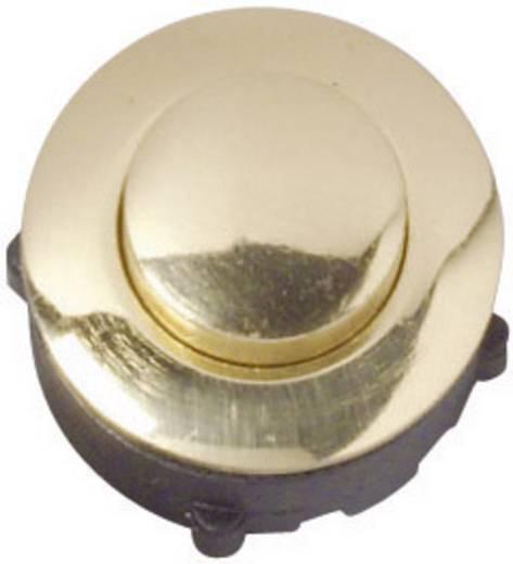 Klingeltaster 1fach Heidemann 70095 Gold 24 V/1 A