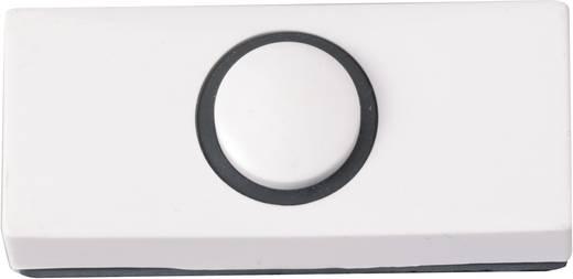 Klingeltaster 1fach Heidemann 70180 Weiß 24 V/1 A
