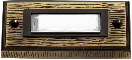Klingelplatte mit Namensschild 1fach Heidemann 70301 Bronze 24 V/1 A