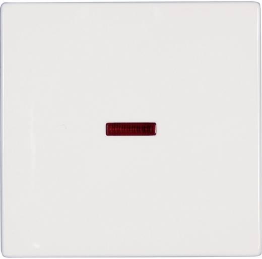 Busch-Jaeger Abdeckung Kontrollschalter, Wechselschalter Solo Weiß 1789-84