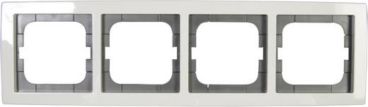 Busch-Jaeger 4fach Rahmen Solo Weiß 1724-84