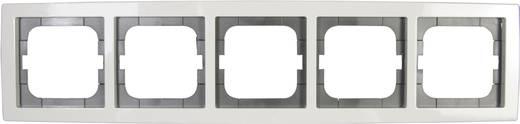 Busch-Jaeger 5fach Rahmen Solo Weiß 1725-84