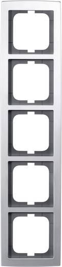 Busch-Jaeger 5fach Rahmen Solo Chrom 1725-80