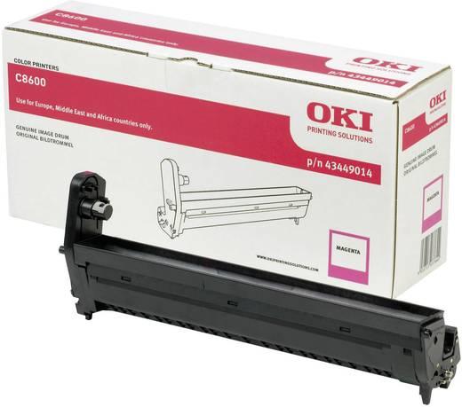 OKI Trommeleinheit Drum Unit C8600 C8800 43449014 Original Magenta 20000 Seiten