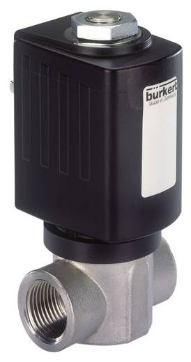 2/2-Wege Direktgesteuertes Ventil Bürkert 178288 24 V/AC G 1/2 Muffe Nennweite 12 mm Gehäusematerial Edelstahl Dichtungs