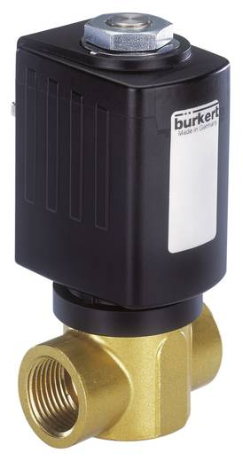 2/2-Wege Direktgesteuertes Ventil Bürkert 184667 24 V/DC G 1/4 Muffe Nennweite 2 mm Gehäusematerial Messing Dichtungsmat