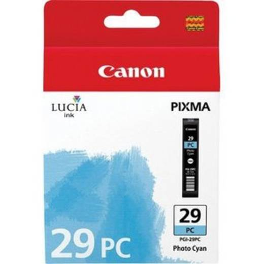 Canon Tinte PGI-29PC Original Photo Cyan 4876B001