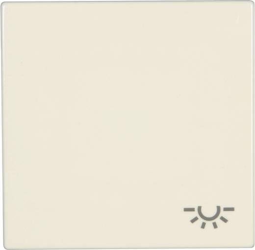 """Jung Abdeckung Symbolwippe """"Licht"""" LS 990, LS design, LS plus Creme-Weiß LS 990 L"""