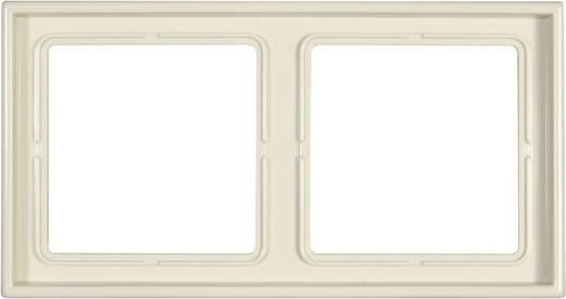 Jung 2fach Rahmen LS 990 Creme-Weiß LS982W