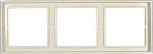 Jung 3fach Rahmen LS 990 Creme-Weiß LS983W