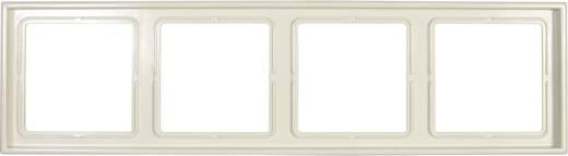 Jung 4fach Rahmen LS 990 Creme-Weiß LS984W