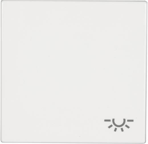 """Jung Abdeckung Symbolwippe """"Licht"""" LS 990, LS design, LS plus Alpinweiß LS 990 L WW"""