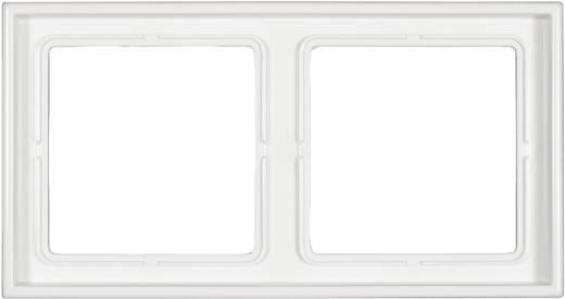 Jung 2fach Rahmen LS 990 Alpinweiß LS 982 WW