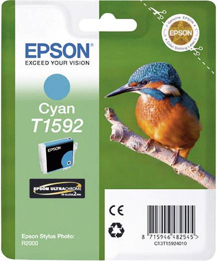 Epson Tinte T1592 Original Cyan C13T15924010