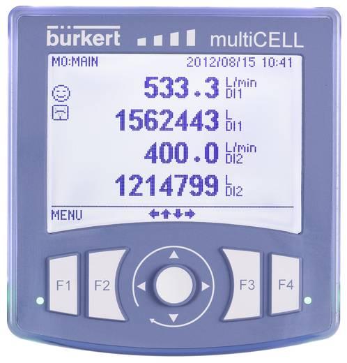 Temperaturregler Bürkert 8619 multiCELL Pt100, Pt1000 Analog Strom, Transistor (L x B x H) 112 x 112 x 107 mm
