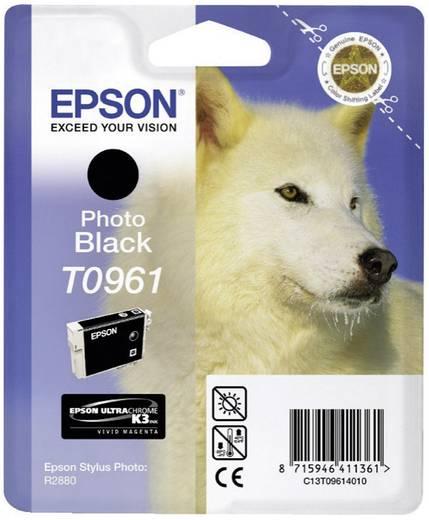 Epson Tinte T0961 Original Foto Schwarz C13T09614010