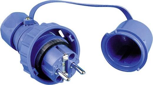 Schutzkontaktstecker Kunststoff druckwasserdicht 230 V Blau IP68 197.9850