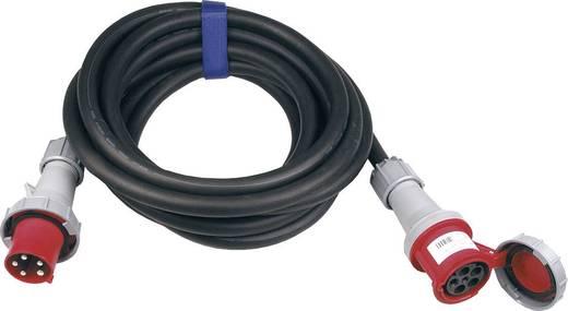 Strom Verlängerungskabel [ CEE-Stecker - CEE-Kupplung] 63 A Schwarz 25 m SIROX 367.825