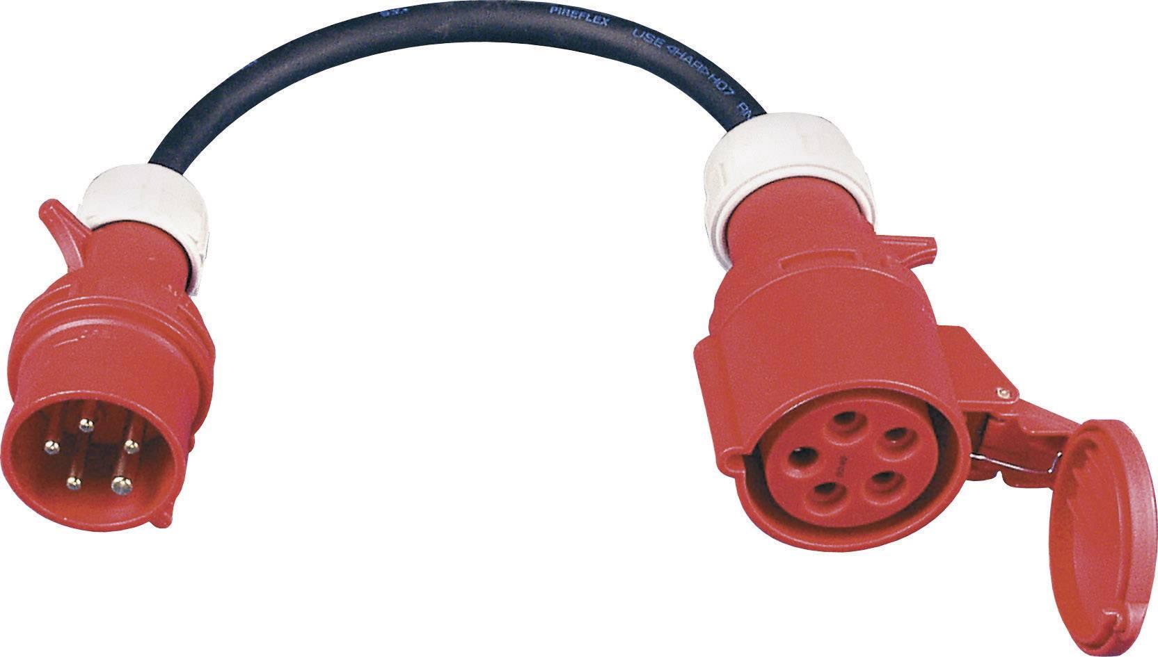 5 Polig CEE Adapter Starkstrom 32 A Stecker Mit Auf 16 A Kupplung 5 x 2,5 mm²