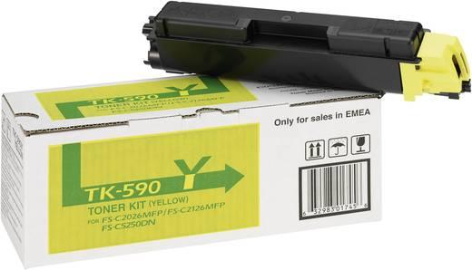 Kyocera Toner TK-590Y 1T02KVANL0 Original Gelb 5000 Seiten