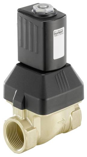 2/2-Wege Servogesteuertes Ventil Bürkert 227533 24 V/DC G 1 Muffe Nennweite 25 mm Gehäusematerial Messing Dichtungsmater