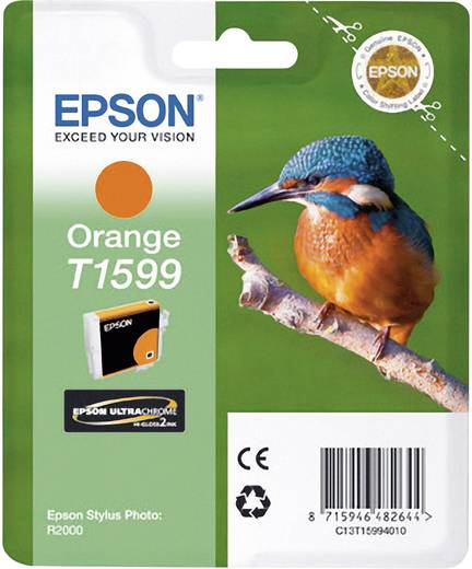 Epson Tinte T1599 Original Orange C13T15994010