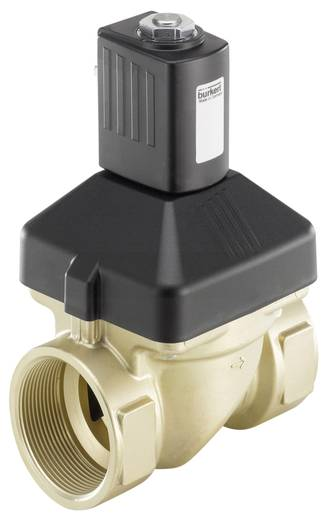 2/2-Wege Servogesteuertes Ventil Bürkert 227728 24 V/AC G 2 Muffe Nennweite 40 mm Gehäusematerial Messing Dichtungsmater