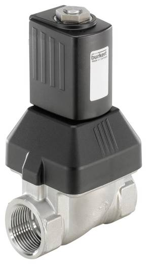2/2-Wege Servogesteuertes Ventil Bürkert 222143 230 V/AC G 1 Muffe Nennweite 25 mm Gehäusematerial Edelstahl Dichtungsmaterial FKM