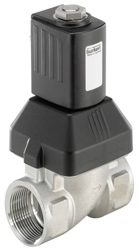 Bürkert 222199 2/2-Wege Servogesteuertes Ventil 230 V/AC G 1 1/4 Muffe Nennweite 25 mm Gehäusematerial Edelstahl Dichtun