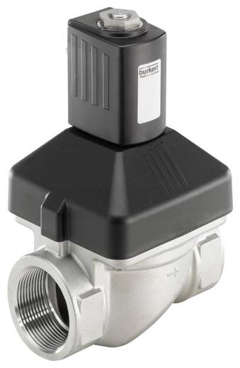 Bürkert 227557 2/2-Wege Servogesteuertes Ventil 24 V/DC G 1 1/2 Muffe Nennweite 40 mm Gehäusematerial Edelstahl Dichtung
