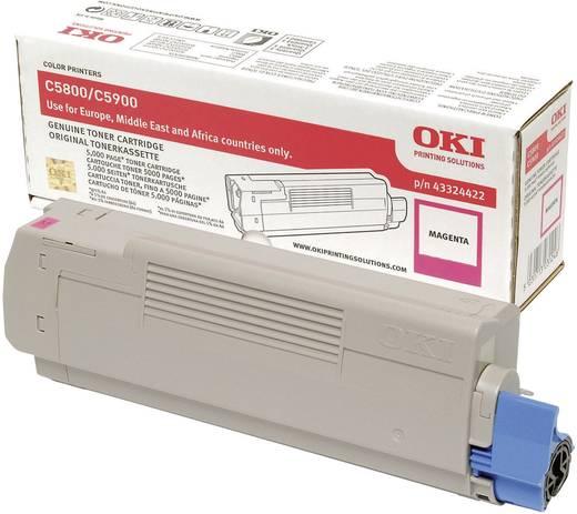OKI Toner C5800 C5900 43324422 Original Magenta 5000 Seiten