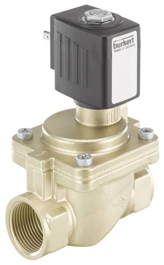 2/2-Wege Servogesteuertes Ventil Bürkert 221901 24 V/DC G 3/4 Muffe Nennweite 13 mm Gehäusematerial Messing Dichtungsmaterial EPDM