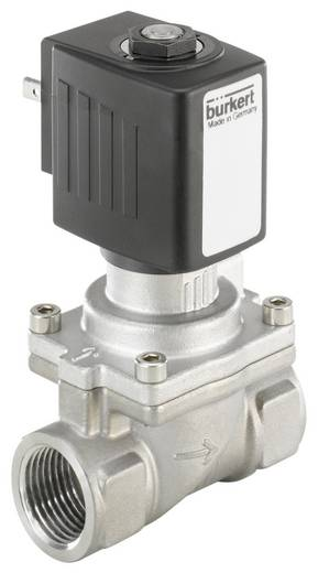 2/2-Wege Servogesteuertes Ventil Bürkert 221969 24 V/AC G 1/2 Muffe Nennweite 13 mm Gehäusematerial Edelstahl Dichtungsmaterial NBR