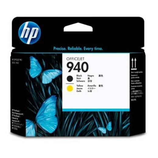 HP Tinten-Druckkopf 940 Schwarz;Gelb C4900A