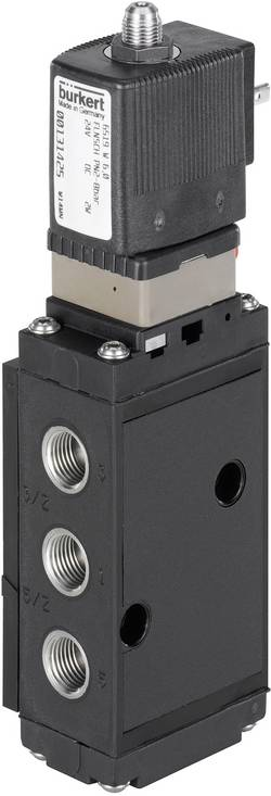 Vanne à servocommande 5/2-voies ou 3/2-voies Bürkert 131421 24 V/DC G 1/4 Pression maxi: 8 bar 1 pc(s)
