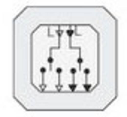 GIRA Einsatz Jalousie-Taster Standard 55, E2, Event Klar, Event, Event Opak, Esprit, ClassiX, System 55 015700
