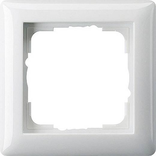 GIRA 1fach Rahmen System 55, Standard 55 Reinweiß 021103