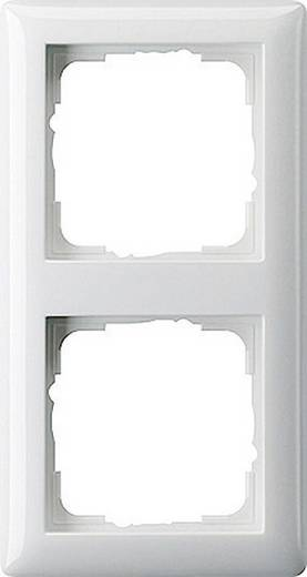 GIRA 2fach Rahmen System 55, Standard 55 Reinweiß 021203