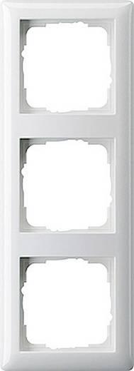 GIRA 3fach Rahmen System 55, Standard 55 Reinweiß 021303