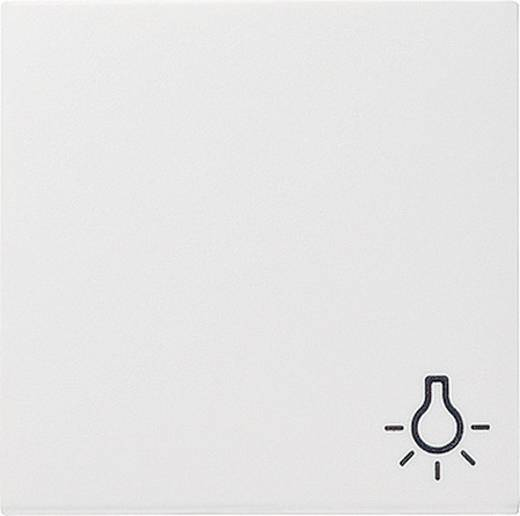 """GIRA Abdeckung Symbolwippe """"Licht"""" System 55, Standard 55, E2, Event, Event Klar, Event Opak, Esprit, ClassiX Reinweiß, Matt 028527"""