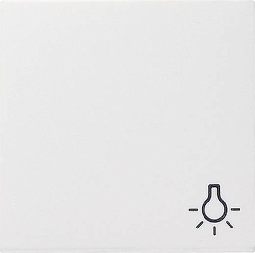 "GIRA Abdeckung Symbolwippe ""Licht"" System 55, Standard 55, E2, Event, Event Klar, Event Opak, Esprit, ClassiX Sauber-Weiß (glänzend) 0285 03"