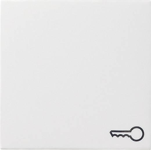 """GIRA Abdeckung Symbolwippe """"Schlüssel"""" System 55, Standard 55, E2, Event, Event Klar, Event Opak, Esprit, ClassiX Sauber-Weiß (glänzend) 0287 03"""