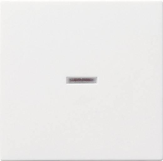 GIRA Abdeckung Kontrollschalter System 55, Standard 55, E2, Event, Event Klar, Event Opak, Esprit, ClassiX Sauber-Weiß (glänzend) 029003